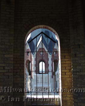 Photograph of Holy Hill Tower Windows from www.MilwaukeePhotos.com (C) Ian Pritchard